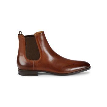 Kensington Leather Boots BOSS Hugo Boss