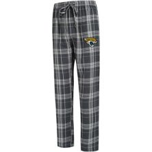 Men's Concepts Sport Charcoal Jacksonville Jaguars Big & Tall Hillstone Flannel Pants Unbranded