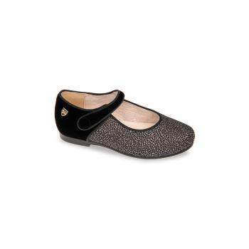 Маленькая девочка & amp; Бархатные туфли Carly для девочек Venettini