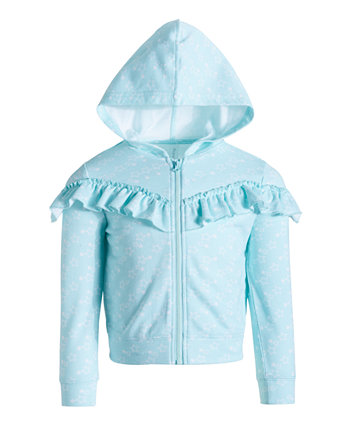 Little Girls Ruffle Sweatshirt, Created for Macy's Ideology