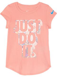 Футболка с рисунком Just Do It (для маленьких детей) Nike Kids