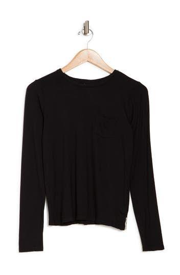 Moonshine Long Sleeve Pocket T-Shirt Maaji