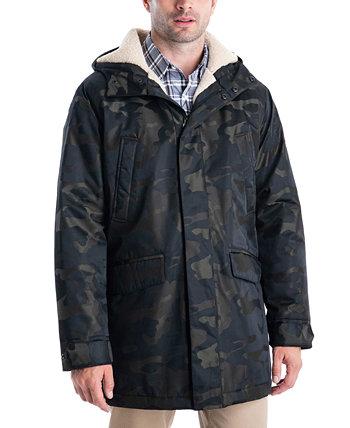 Мужская большая и высокая стадионная куртка Otto с подкладкой из искусственного шерпа Michael Kors