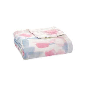 Флорентийское шелковистое бамбуковое одеяло для маленьких девочек Aden + anais