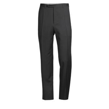 Прямые шерстяные брюки Canali