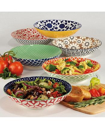 Soho Набор из 6 тарелок для ужина Certified International