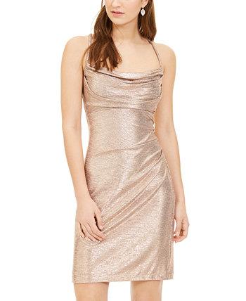 Металлическое облегающее платье Юниоров Morgan & Company