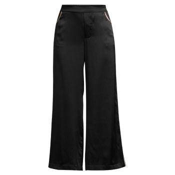 Шелковые широкие брюки Muse KIKI DE MONTPARNASSE