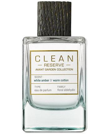 Avant Garden Белая янтарь и теплый хлопок Eau de Parfum, 3,4 унции. CLEAN Fragrance