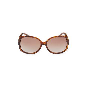 Квадратные солнцезащитные очки 61 мм M Missoni