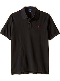 Рубашка-поло из хлопковой сетки (для больших детей) Ralph Lauren