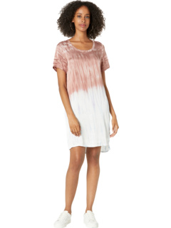 Silky Basics Short Sleeve High-Low T-Shirt Dress Chaser