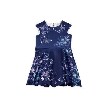 Платье-бабочка для маленькой девочки Hannah Banana