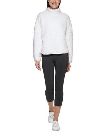 Женский пуловер с воротником-стойкой Calvin Klein