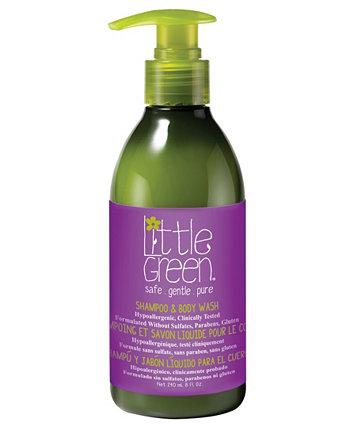 Детский шампунь и гель для душа, 8 унций Little Green