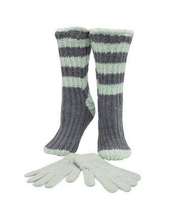 Двухслойные носки и перчатки с запахом вина или кофе с запахом лаванды MinxNY
