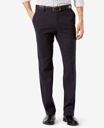 Мужские легкие прямые штаны цвета хаки Dockers