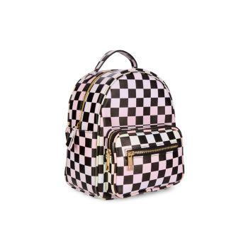 Детский рюкзак с принтом в шахматную клетку Under One Sky