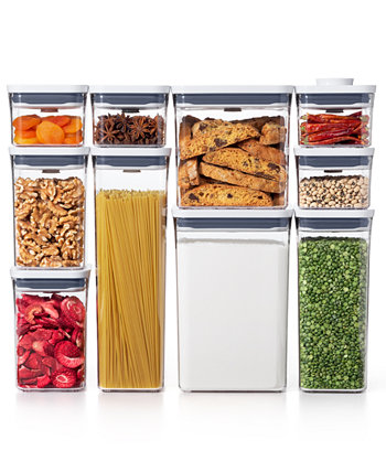 Pop 10-Pc. Food Storage Container Set Oxo