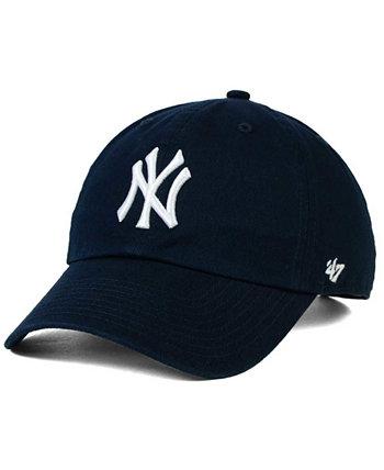 Реплика New York Yankees On-Field CLEAN UP Бейсболка '47 Brand