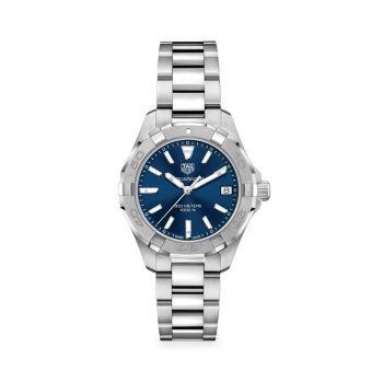 Часы с кварцевым браслетом из нержавеющей стали Aquaracer 32 мм TAG Heuer