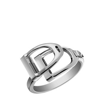 Кольцо из стерлингового серебра с двумя прорезями Ralph Lauren