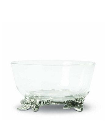 Дип, Конфеты, Фруктовая стеклянная чаша с черничной основой Vagabond House