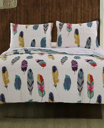 Комплект одеяла Ловец снов, двухкомпонентное двойное одеяло Greenland Home Fashions