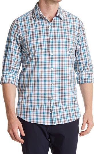 Тканая рубашка на пуговицах с длинным рукавом MOVE