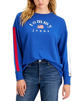 Толстовка с большим логотипом Tommy Jeans