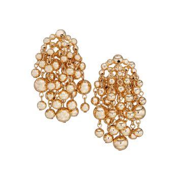 Wilshire 10K Goldplated Drop Earrings DANNIJO