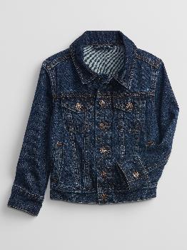 Джинсовая куртка Icon для малышей с Washwell ™ Gap Factory