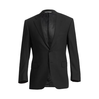 Essential Wool Sportcoat - спортивное пальто из шерсти Canali