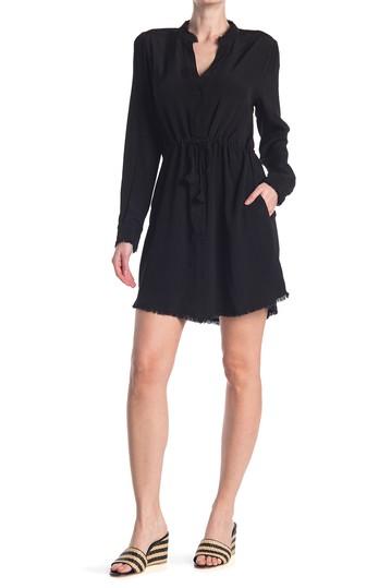 Платье-рубашка с потрепанным краем на пуговицах Adelyn Rae