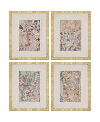 Набор настенных картин в рамке Paragon Vestige II, 4, 21 x 17 дюймов Paragon Picture Gallery