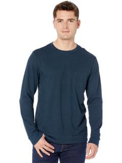 Карманная футболка с длинными рукавами Tri-Blend Threads 4 Thought