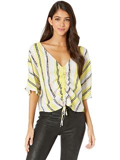 Рубашка из крепа в полоску Atala Cupcakes and Cashmere