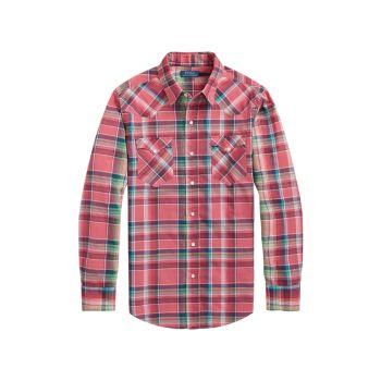 Рубашка в западную клетку Polo Ralph Lauren