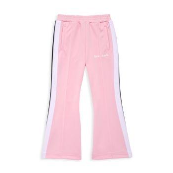 Маленькая девочка & amp; Спортивные брюки Girl's Flare PALM ANGELS