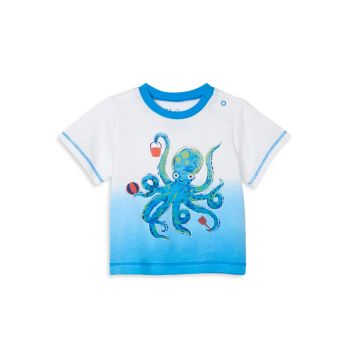 Baby's Playful Octopus Graphic T-Shirt Hatley