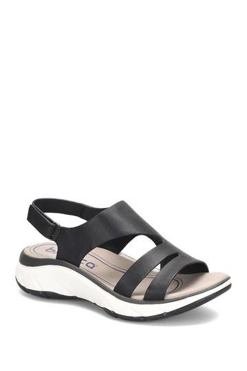 Кожаные сандалии с ремешком на пятке Akela Bionica