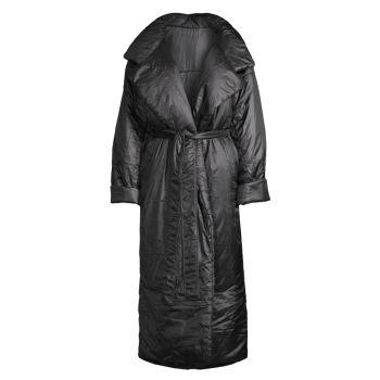 Пальто с длинным спальным мешком Norma Kamali