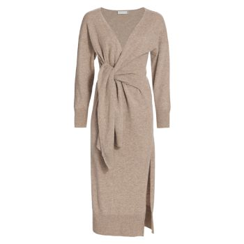 Вязаное платье с запахом Skyla Loungewear Jonathan Simkhai