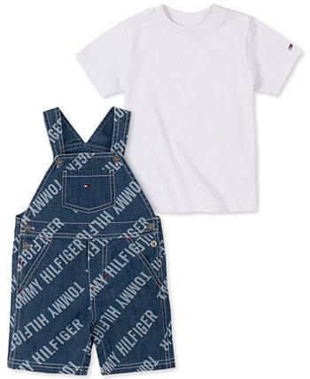 Джинсовая футболка с коротким рукавом Baby Boys Tommy Hilfiger