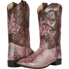 Antique Pink (Большой ребенок) Old West Kids Boots