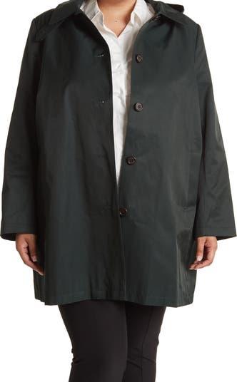 Balmacaan Raincoat LAUREN Ralph Lauren