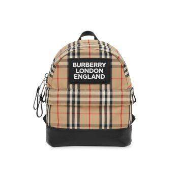 Маленький рюкзак Nico в клетку Burberry