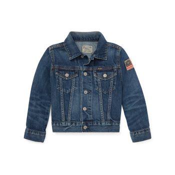 Джинсовая куртка для маленьких мальчиков Ralph Lauren