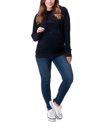 Худи для беременных и кормящих мам Jojo NOM Maternity