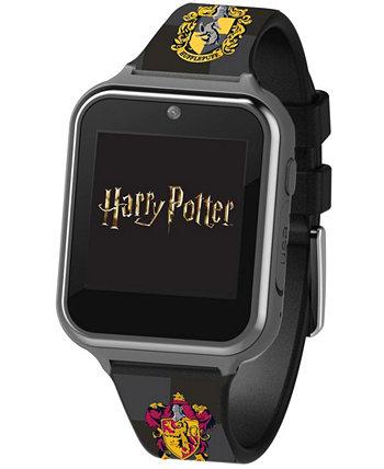 Умные часы с сенсорным экраном для детей Гарри Поттера с черным силиконовым ремешком, 46 мм x 41 мм ACCUTIME